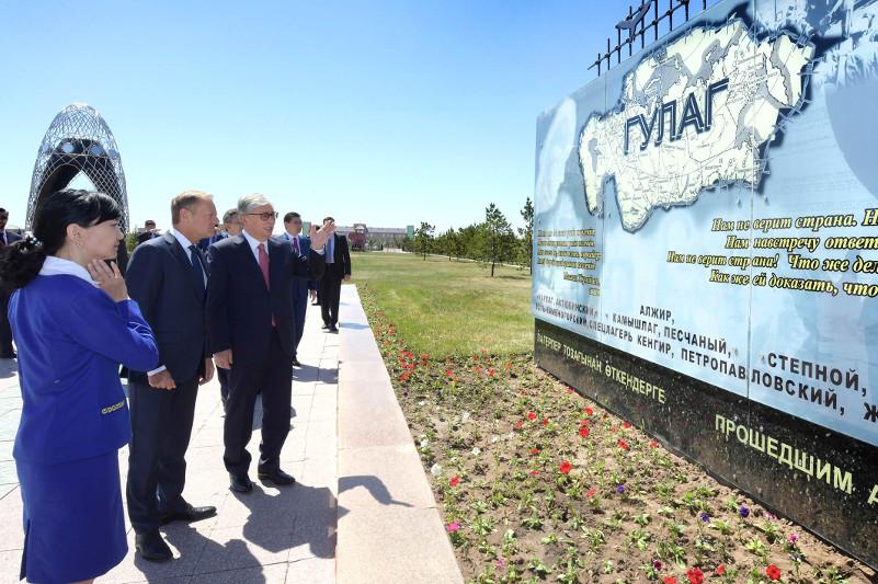 Касым-Жомарт Токаев посетил «АЛЖИР»