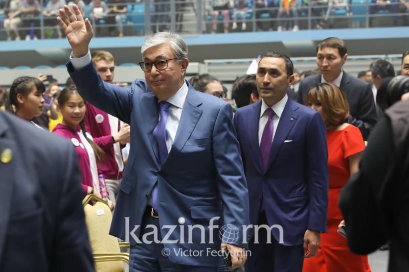 Мемлекет басшысы «Жұлдызай» халықаралық балалар фестивалінің гала-концертіне қатысты
