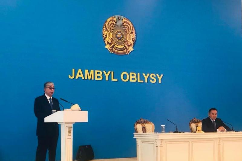 总统:江布尔州历史古迹体现着人民共同的文化价值观