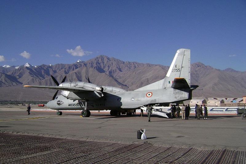 印度空军一架AN-32运输机失联