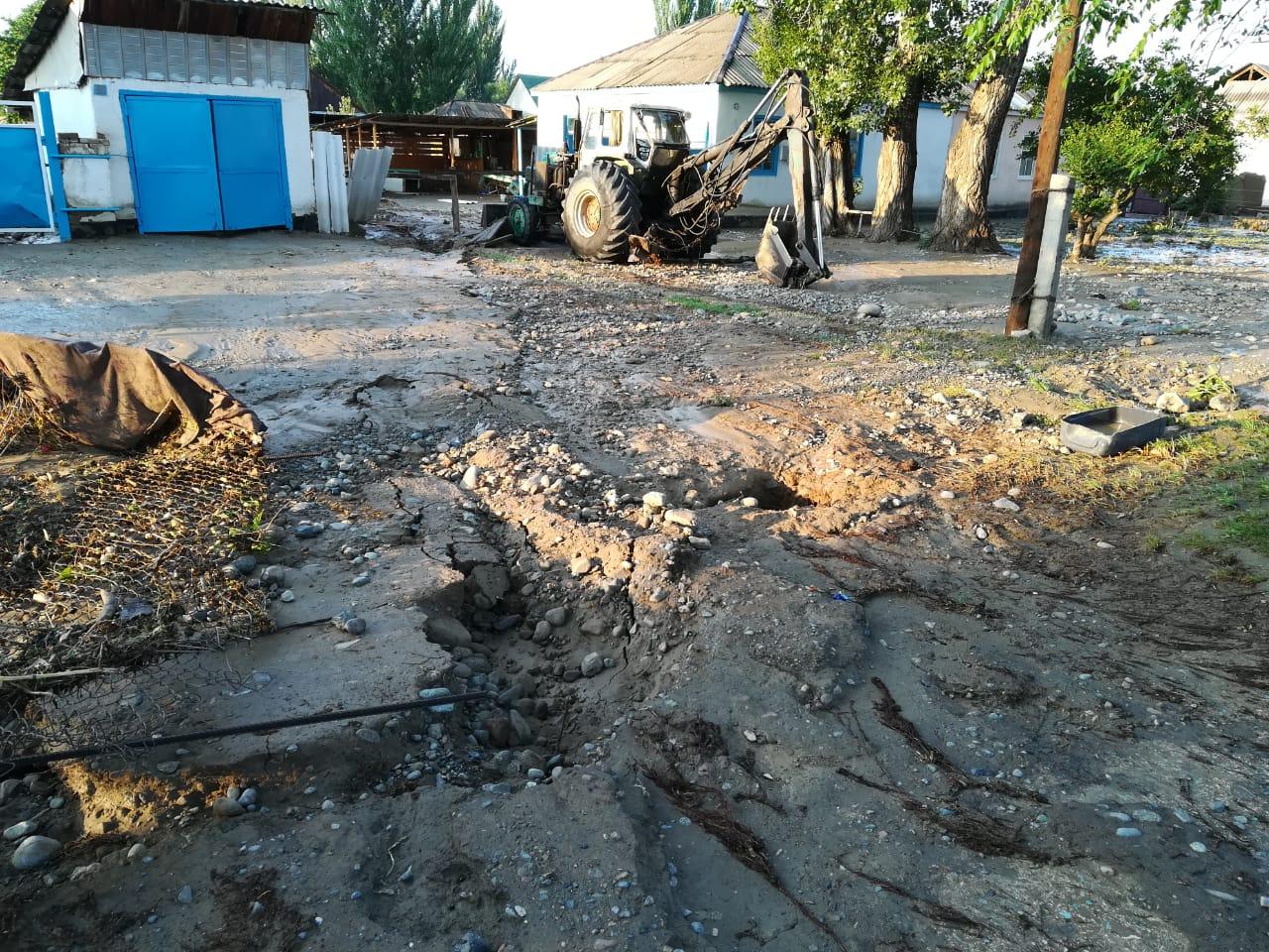 Подтопление домов в селе Пиджим: развернут штаб, на месте работают спасатели