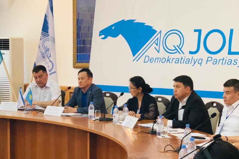Штаб кандидата Дании Еспаевой провел в Кызылорде круглый стол по духовно-культурному развитию