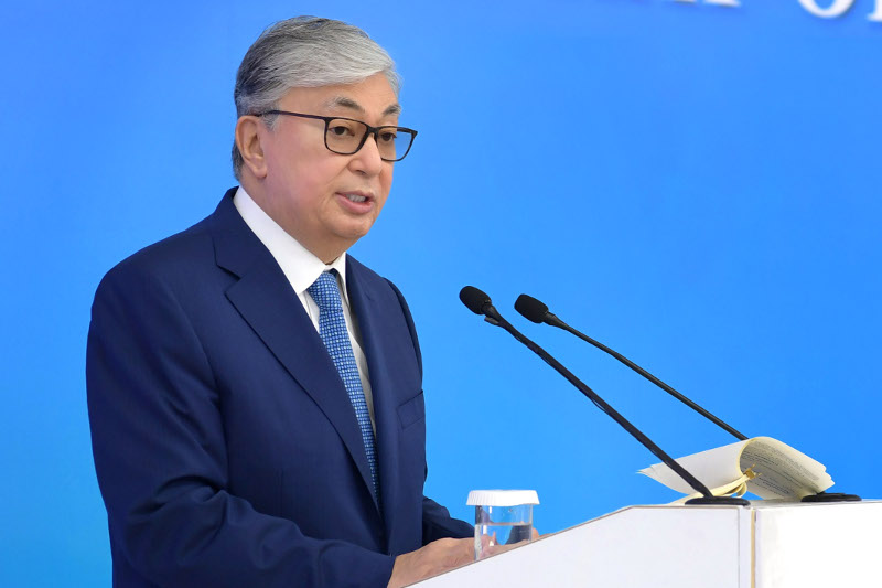 President: Kazakhstan flag known all over the world