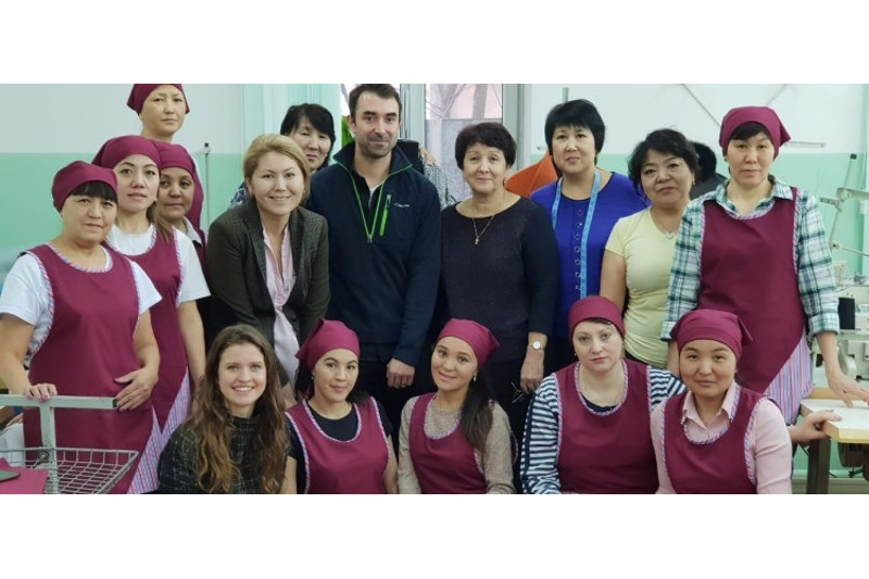 From a Soviet sewing factory to Kazakh haute couture
