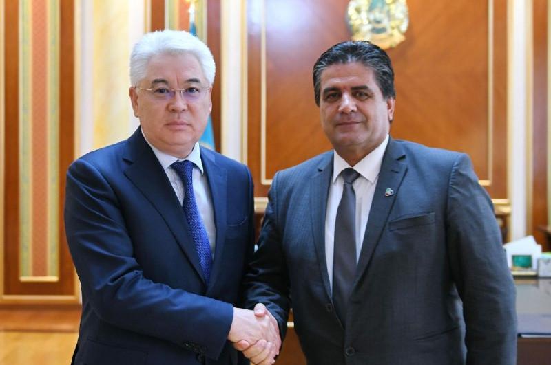 哈萨克斯坦外长会见亚信会议秘书处执行主任