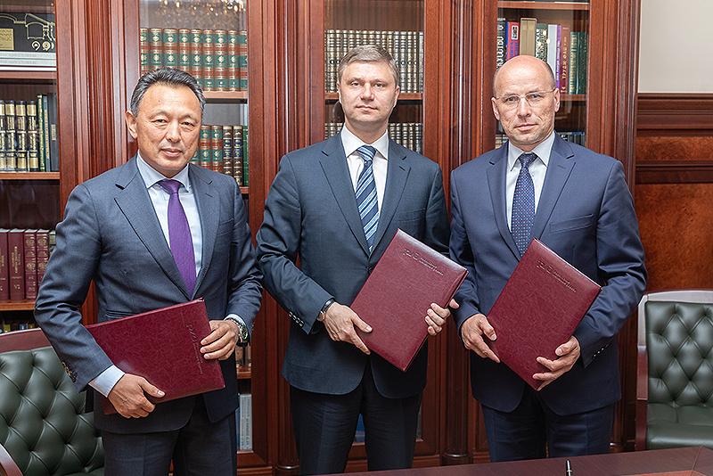 联合运输物流公司-欧亚铁路联盟签署股东协议