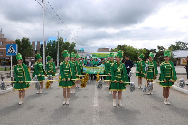 Международная акция «Марш парков» прошла в Бурабае