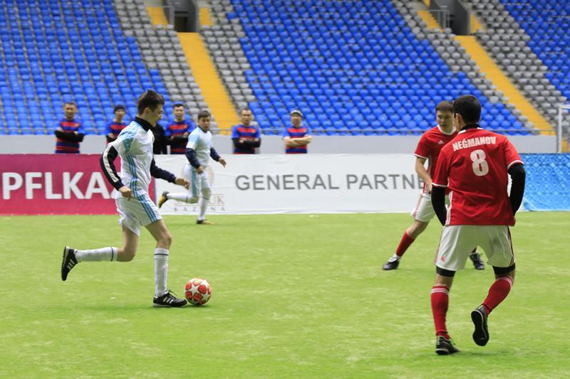 Турнир по футболу на кубок министра обороны провели в Нур-Султане