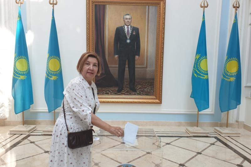 На избирательном участке в Москве проголосовал 171 избиратель