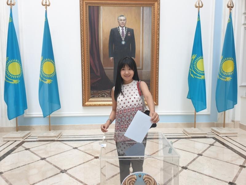 Мы выбираем будущее Казахстана - мнение голосующей молодежи в Москве