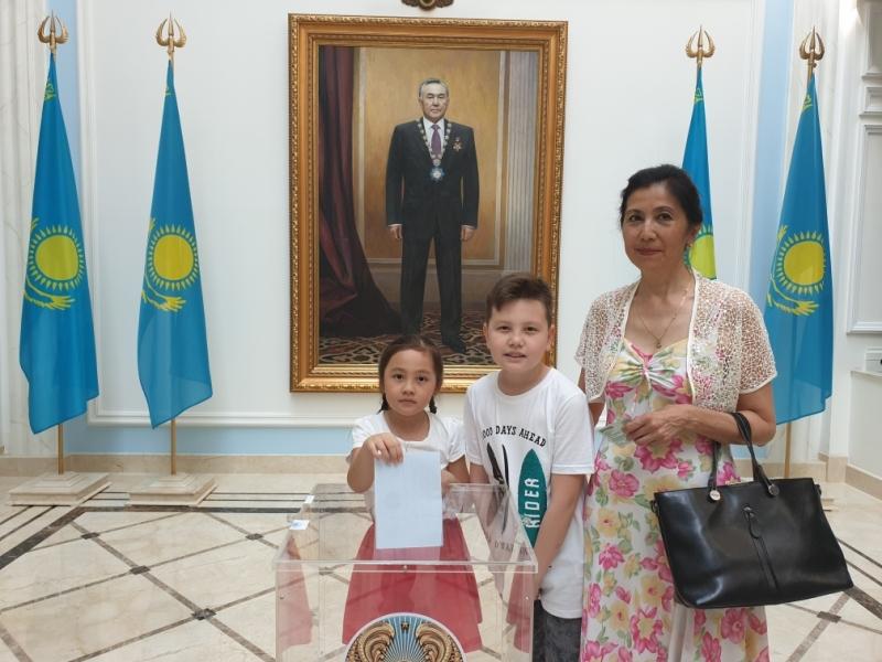 570 избирателей проголосовали на выборах Президента РК в Москве