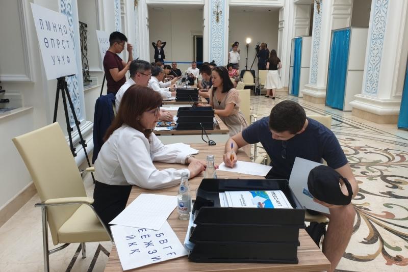 950 избирателей проголосовали на участке в Москве