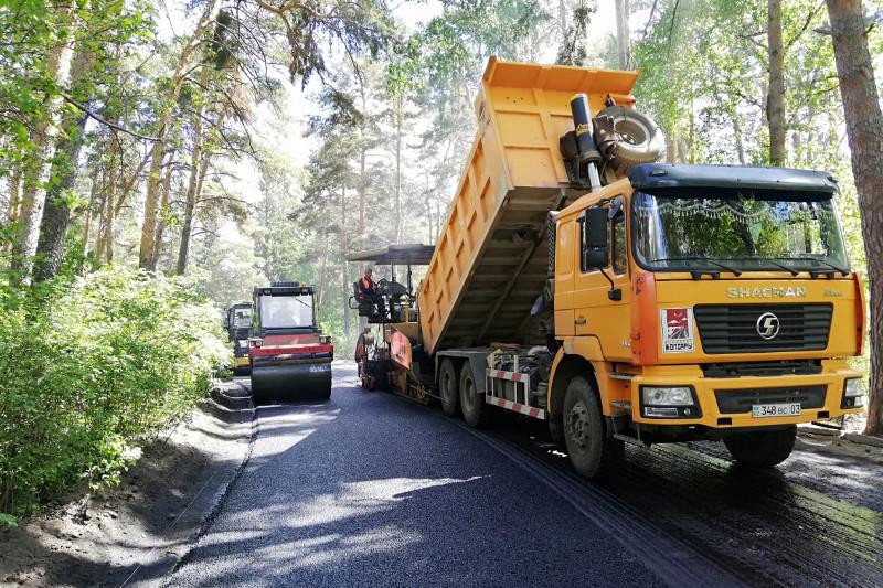В 2019 году в Акмолинской области отремонтируют 148 км автодорог