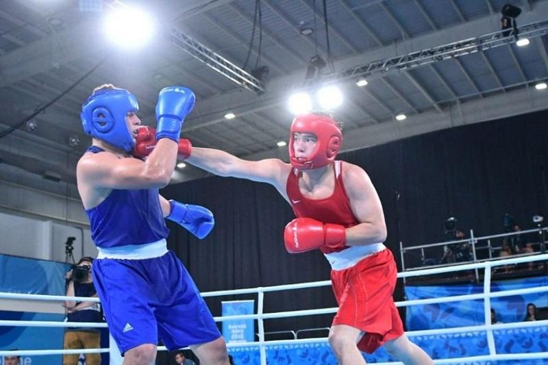 """""""一带一路""""拳击精英赛:哈萨克斯坦代表团获得7枚奖牌"""