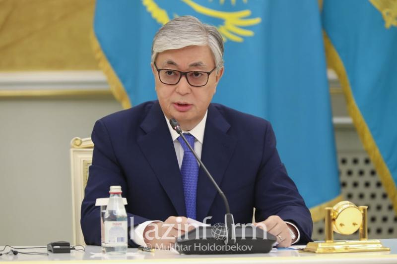 Касым-Жомарт Токаев встретился с казахстанскими и иностранными журналистами