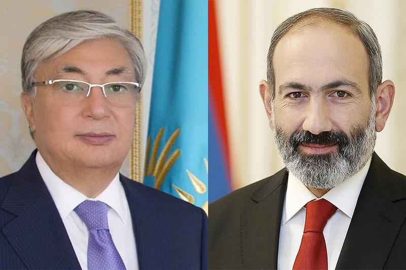 亚美尼亚总理祝贺托卡耶夫当选哈萨克斯坦总统