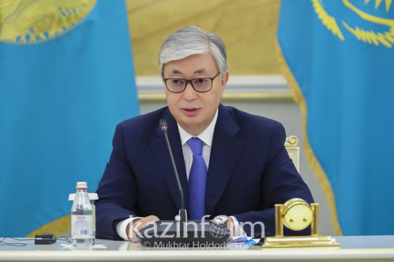 Опубликовано видео пресс-конференции Касым-Жомарта Токаева по итогам выборов