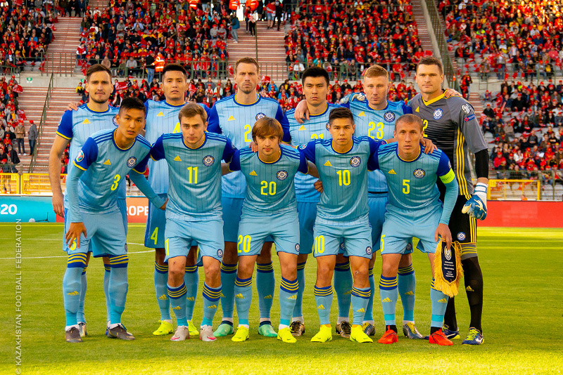 2020欧洲杯:哈萨克斯坦队主场对阵圣马力诺