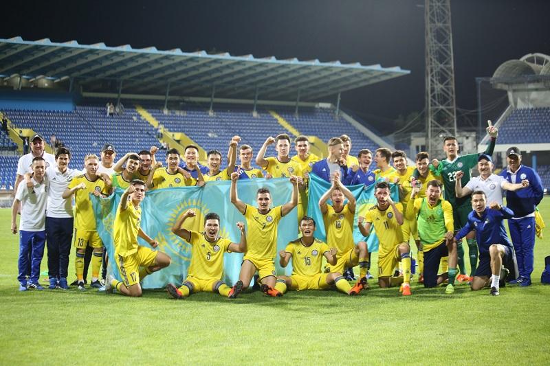 Молодежная сборная Казахстана сотворила сенсацию отбора Евро-2021