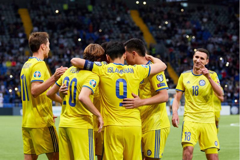 Каково положение сборной Казахстана после четырех туров отбора ЕВРО-2020