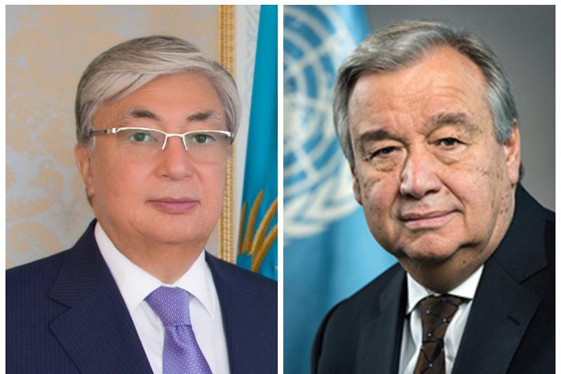 UN Secretary General congratulates Kassym-Jomart Tokayev on his election win