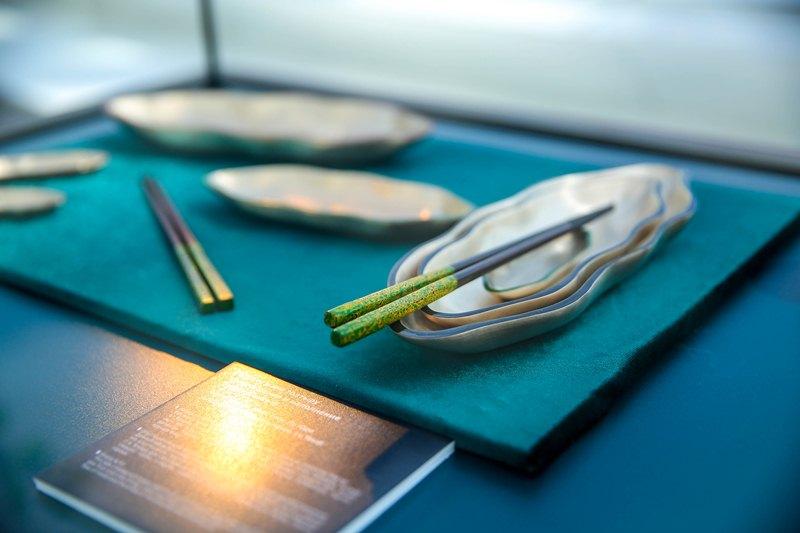 Выставка корейских палочек для еды открылась в Библиотеке Елбасы