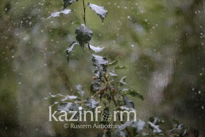Rainy weather to linger across Kazakhstan