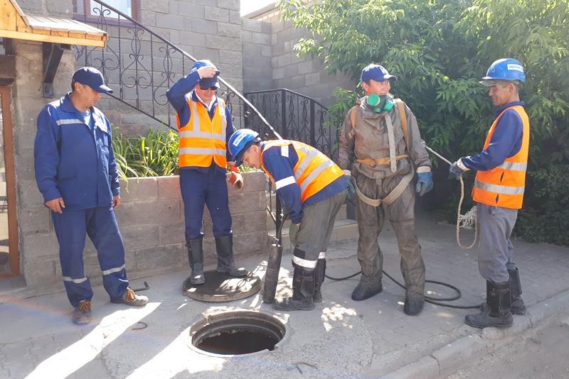 Три предприятия отключили от канализации за нарушения в Актобе