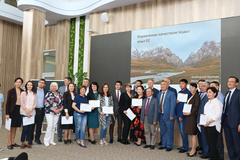Казахстан заимствует опыт Евросоюза по улучшению качества водных ресурсов
