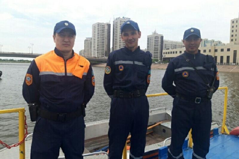 Тонувшего в реке мужчину спасли в Нур-Султане