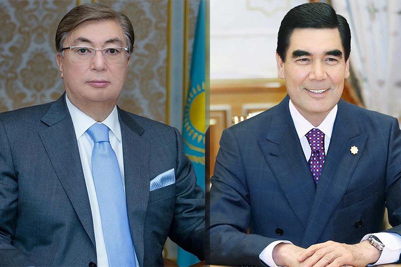 Гурбангулы Бердымухамедов поздравил Касым-Жомарта Токаева с победой на выборах