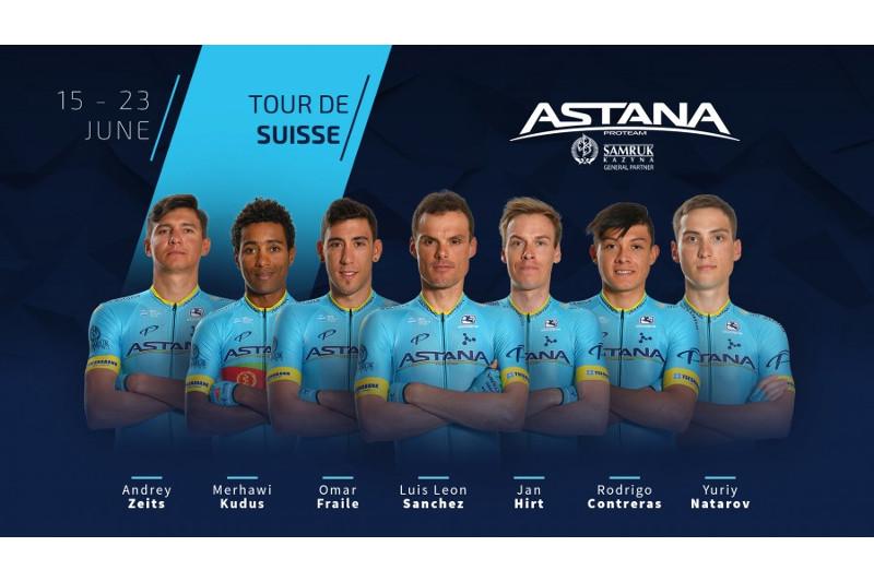Astana Pro Team announces roster for Tour de Suisse 2019