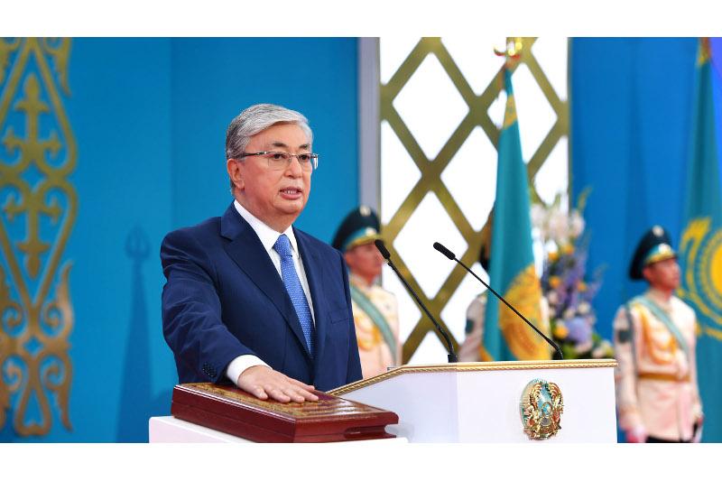 Kassym-Jomart Tokayev receiving new congratulatory letters