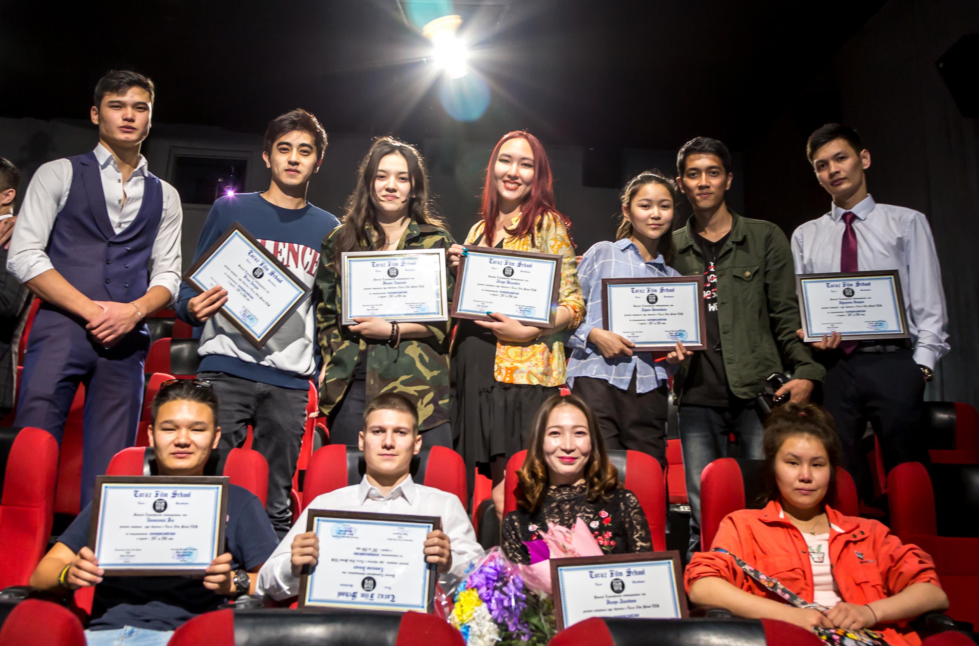 В Таразе прошла премьера фильмов местной киношколы