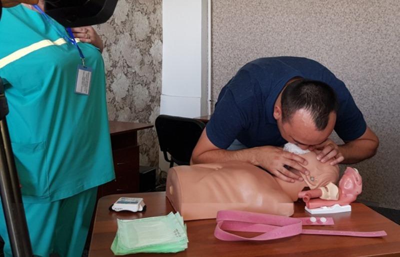 Оказывать первую помощь учат павлодарцев медики скорой