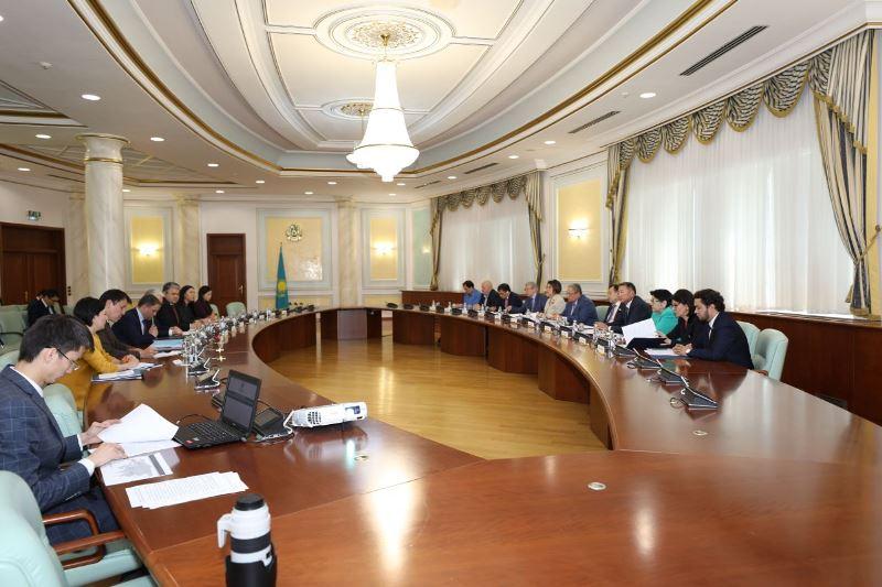 Общественный совет по вопросам деятельности МИД РК провел первое заседание в новом составе
