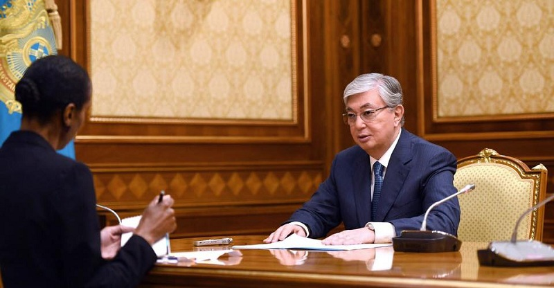 Kazakh President gives interviews to Euronews, The Wall Street Journal