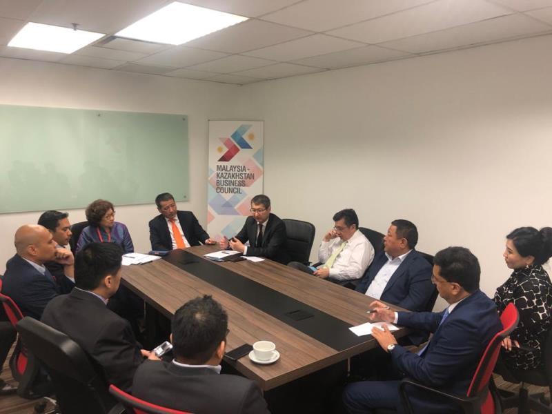 В Куала-Лумпуре состоялось открытие офиса казахстанско-малайзийского Делового совета