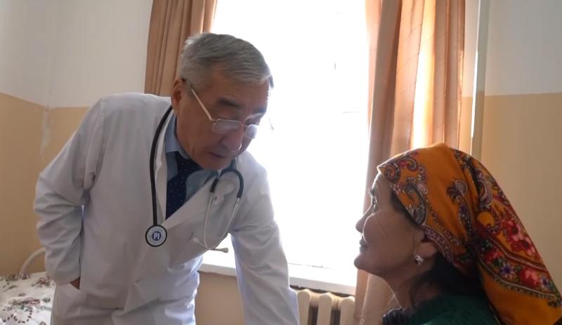 СҚО-дағы шалғай ауылдың дәрігері 3,5 мың адамға медициналық көмек көрсетеді