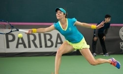 Воскобоева не сумела выйти в полуфинал турнира в Нидерландах