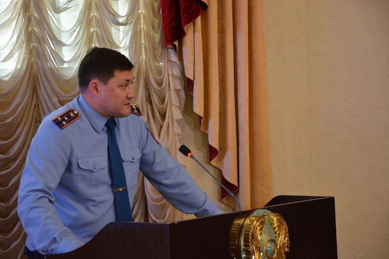 Лучшего наставника выбрали в полиции Северного Казахстана