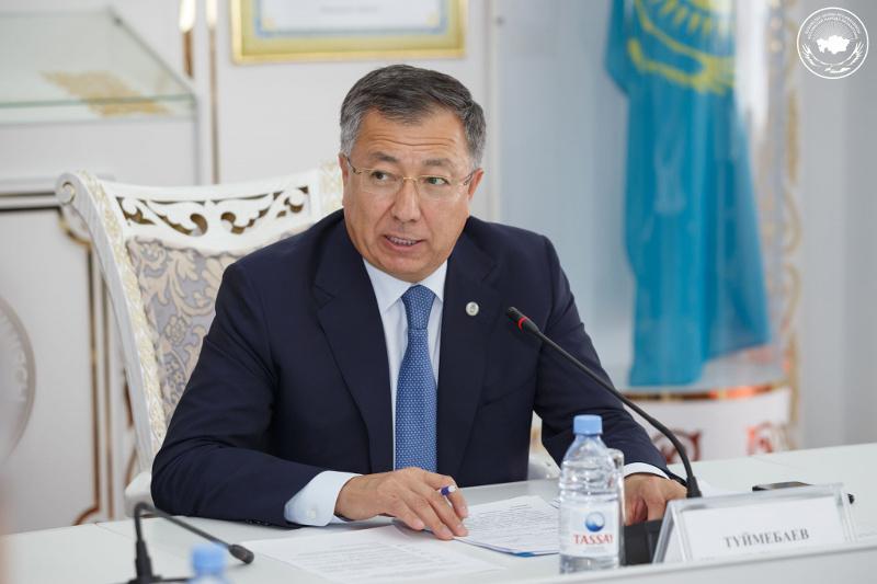 Жансеит Туймебаев назвал выступление Президента отправной точкой хороших перемен