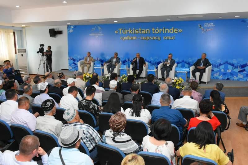 В Туркестане состоялась первая встреча в рамках проекта «Túrkístan tórínde»
