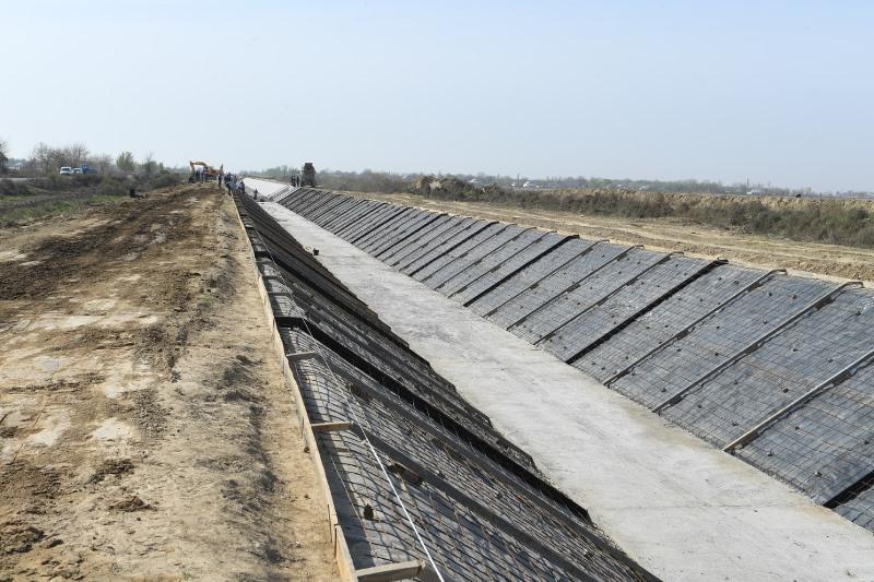 80 тысяч га орошаемых земель обеспечат поливной водой в Туркестанской области