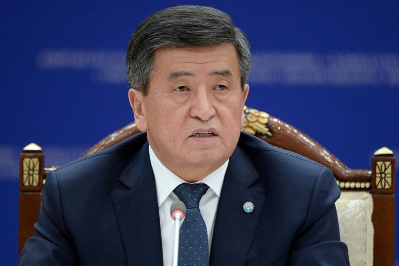 Сооронбай Жээнбеков пожелал Касым-Жомарту Токаеву успехов в государственной деятельности