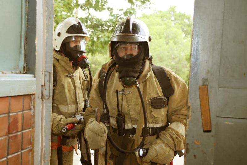 В течение получаса ликвидирован «пожар» в Казахфильме