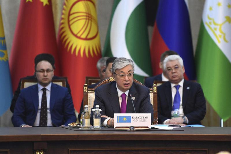 Полный текст выступления Президента РК на заседании Совета глав государств-членов ШОС