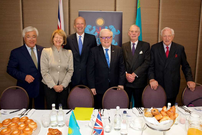 Strategic partnership and Kazakhstan's presidential election discussed in London