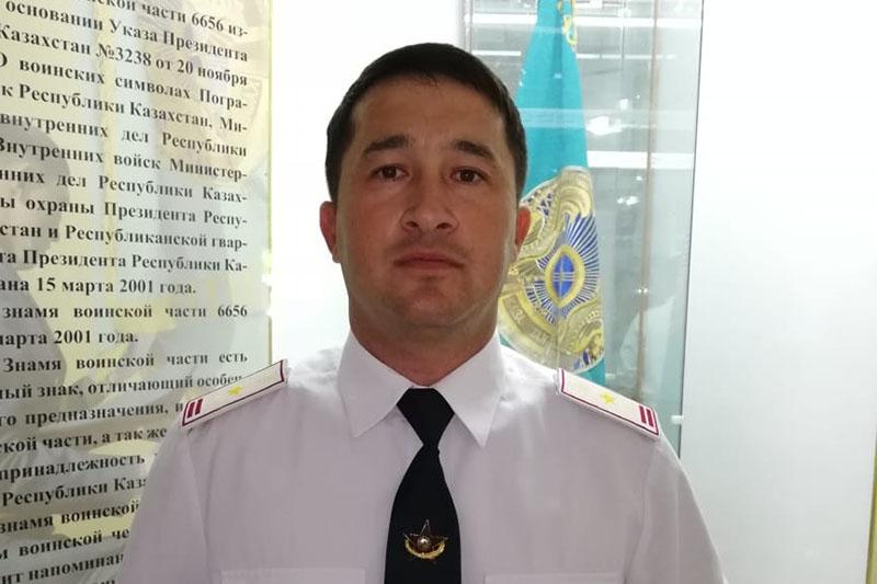 Офицер Нацгвардии задержал вора-автомобилиста в Актау