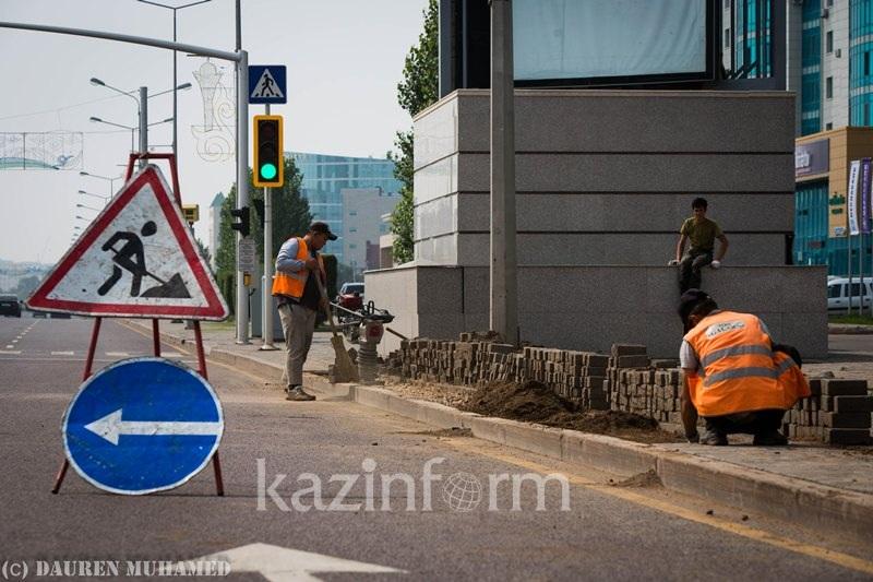 Бауыржан Байбек проверил ход реконструкции улиц Алматы